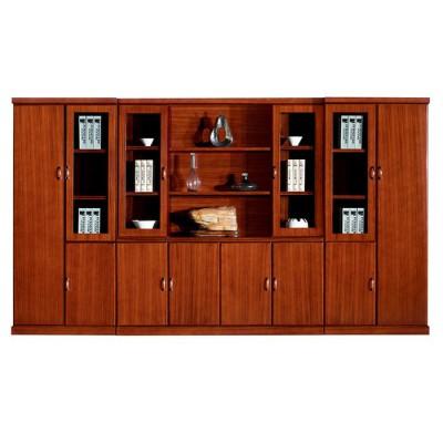 鸿业盛大办公家具实木贴皮老板办公桌办公室办公家具直销 办公台