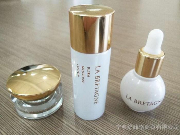 台湾美妆原装进口舒菲格soffygirl 布列塔尼系列水乳霜 化妆品护肤套装 面部护理套装 批发代理