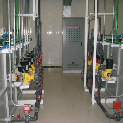 废水处理站化学品投加系统