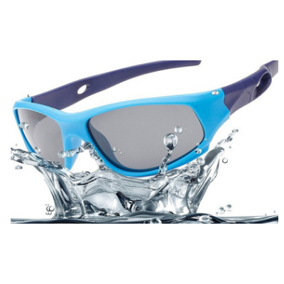 会员价11元2019新款硅胶骑行太阳眼镜户外男女童墨镜儿童偏光运动太阳镜 816